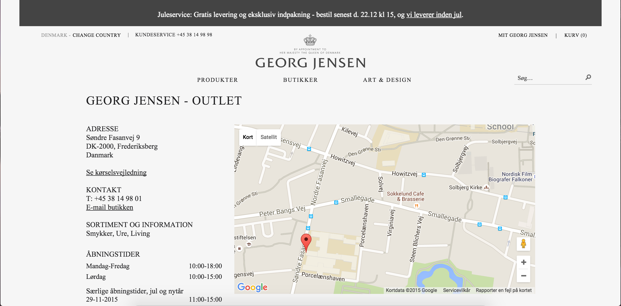 Geogejensen outlet
